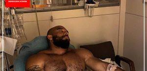 سرجیو الیوا راهی بیمارستان شد